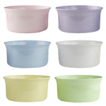 "6"" Cache Dish, Seaside Pastel Assortment,  Pack Size: 24"