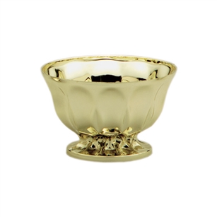 "6"" Revere Bowl, Gold,  Pack Size: 24"