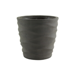 "5 1/4"" Urban Wave Planter, Slate,  Pack Size: 6"