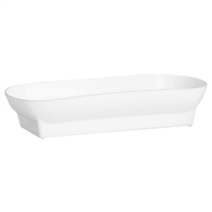 "10 1/2"" Double Design Bowl, White,  Pack Size: 48"