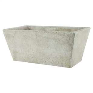 "4 1/4""x9 1/2"" Tapered Planter, Weathered Slate,  Pack Size: 4"