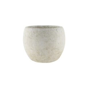 "5 3/4"" Round Pot, Weathered Slate,  Pack Size: 4"