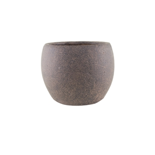 "5 3/4"" Round Pot, Weathered Brown,  Pack Size: 4"