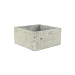 "8"" x 8"" x 4"" Square, Weathered Brown,  Pack Size: 4"