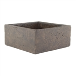 "10"" x 10"" x 4"" Square, Weathered Brown,  Pack Size: 2"