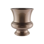 "7 3/4"" Designer Urn, Antique Brass,  Pack Size: 12"