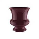 "7 3/4"" Designer Urn, Black Cherry,  Pack Size: 12"