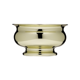 "5"" Pedestal Bowl, Gold,  Pack Size: 24"