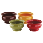 "5"" Pedestal Bowl, Safari Assortment,  Pack Size: 24"