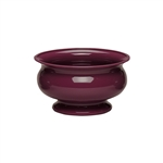"5"" Pedestal Bowl, Black Cherry,  Pack Size: 24"