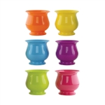 "4 3/4"" Pedestal Compote, Popsicle Assortment,  Pack Size: 18"