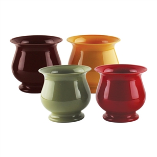 "4 3/4"" Pedestal Compote, Safari Assortment,  Pack Size: 18"