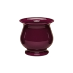 "4 3/4"" Pedestal Compote, Black Cherry,  Pack Size: 18"