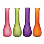 "8 1/2"" Bud Vase, Breeze Assortment,  Pack Size: 24"