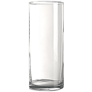 "12"" Carnival Cylinder, Crystal,  Pack Size: 6"