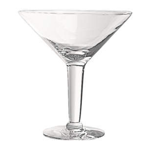 "10"" Grande Martini, Crystal,  Pack Size: 6"