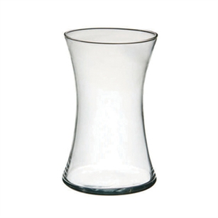 "8"" Small Gathering Vase, Crystal,  Pack Size: 6"