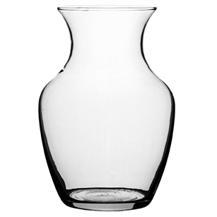 "7"" Sweetheart Vase, Crystal,  Pack Size: 12"