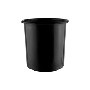 "7"" x 8"" Cooler Bucket, Black,  Pack Size: 12"