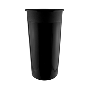 "7"" x 13"" Cooler Bucket, Black,  Pack Size: 12"