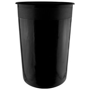 "10"" x 15"" Cooler Bucket, Black,  Pack Size: 6"