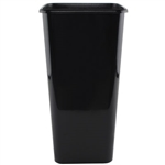 "7 3/4"" x 16"" Sq. Cooler Bucket, Black,  Pack Size: 12"
