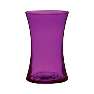 "8"" Gathering Vase, Purple Passion,  Pack Size: 6"