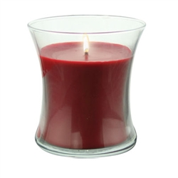 "3 1/2"" Filled Gathering Votive - Red (Case of 12)"