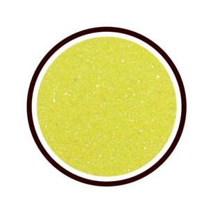Decorative Colored Sand - Lime Yellow (2lb bag)