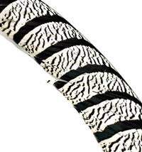 "Lady Amherst Tail Centers 35-40"", Washed (Zebra Striped) - Each"