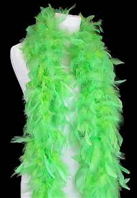 Chandelle Boas - 50 Gram - Lime Green