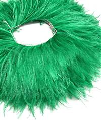 "Ostrich Feather Fringe 5-6"" Kelly Green - 2 Yards"
