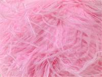 "Ostrich Wing Plumes #2 - 25-29"" Dyed Pink - Per 1/4 lb (About 20 pcs)"