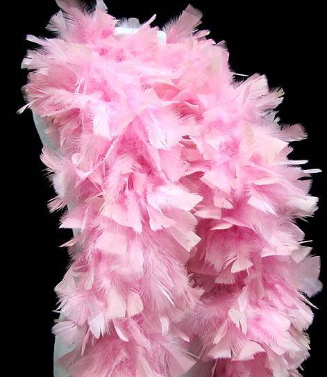Turkey Flat Boas - 150 Gram - Medium Pink