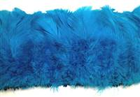 "Strung Turkey Flats 6-8"" Dyed Turquoise - Per 1/2 lb"