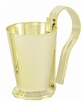 Small Pew Clips W/ Mint Julep Cups - Gold (Case of 24)