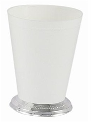 Small Mint Julep Cup - White