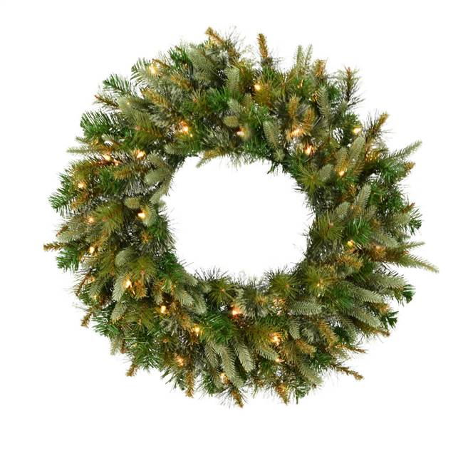 "42"" Cashmere Wreath Dura-Lit 150CL"