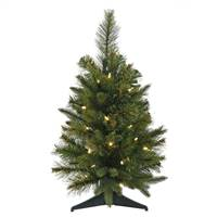 "24"" x 16"" Cashmere Tree 30WmWht BO Timer"