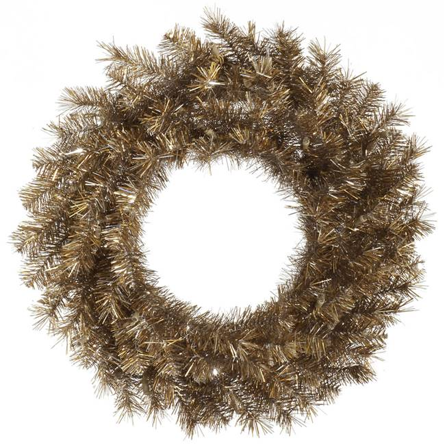 "48"" Metal Mix Tinsel Wreath 300T"