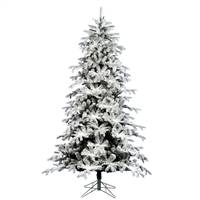 "14' x 80"" Flocked York Spruce 4830T"