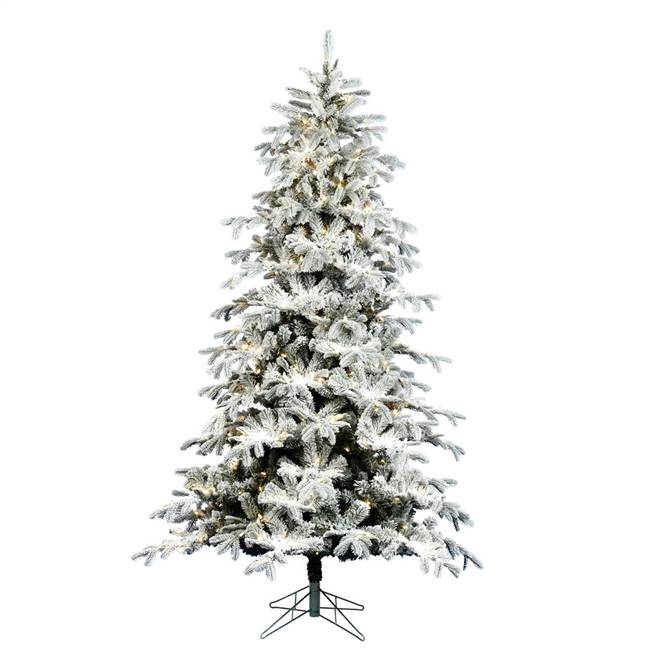 "14' x 80"" Flocked York Spruce 1950WW"