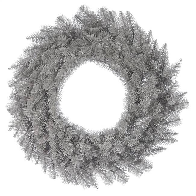 "48"" Platinum Fir Wreath 360Tips"