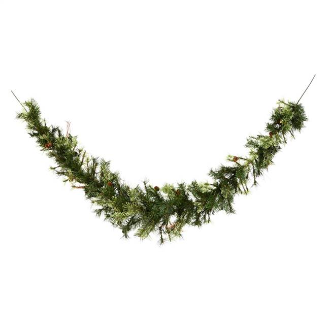 6' Mixed Country Pine Swag Garland 180T