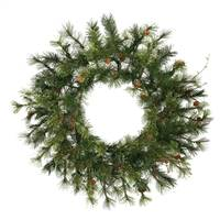 "16"" Mixed Country Pine Wreath 45T"