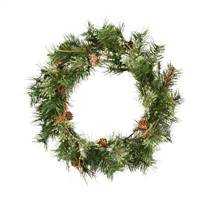 "20"" Mixed Country Pine Wreath 70T"
