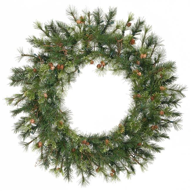 "36"" Mixed Country Pine Wreath 165T"