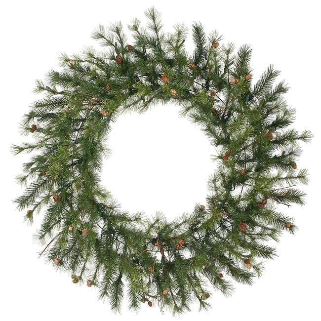 "48"" Mixed Country Pine Wreath 220T"