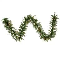 "9' x 10"" Canadian Garland 35MU 220 Tips"