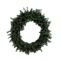 "12"" Canadian Pine Wreath 70 Tips Pk/4"